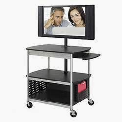 Safco Scoot Multimedia Cart
