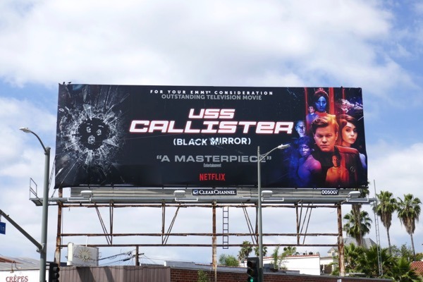 Black Mirror USS Callister 2018 Emmy FYC billboard