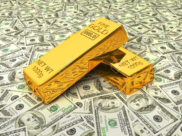 El oro se recupera tras caída del dólar