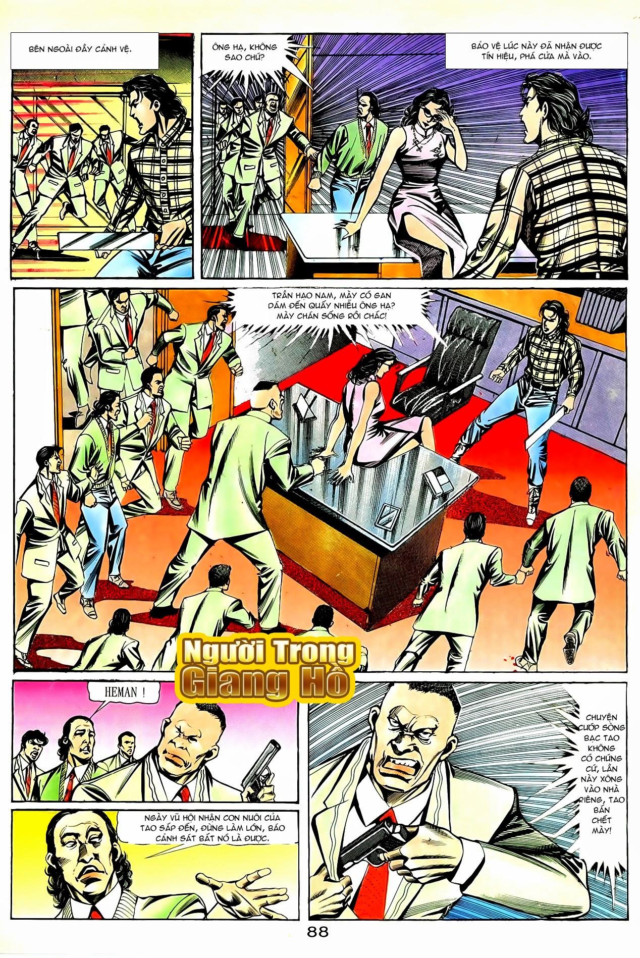 Người Trong Giang Hồ chapter 90: giang hồ hiểm trang 24