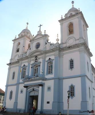 Catedral Metropolitana de Santo Antônio da Sé, Diamantina, Minas Gerais, Caminho dos Diamantes, Estrada Real