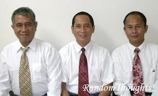 La Carlota District Leaders