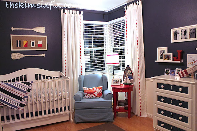 The Day Has Finally Come To Reveal Nautical Nursery Everything Is Done I Still Have A Detailed Tutorial Posts On How Did Few Things But For