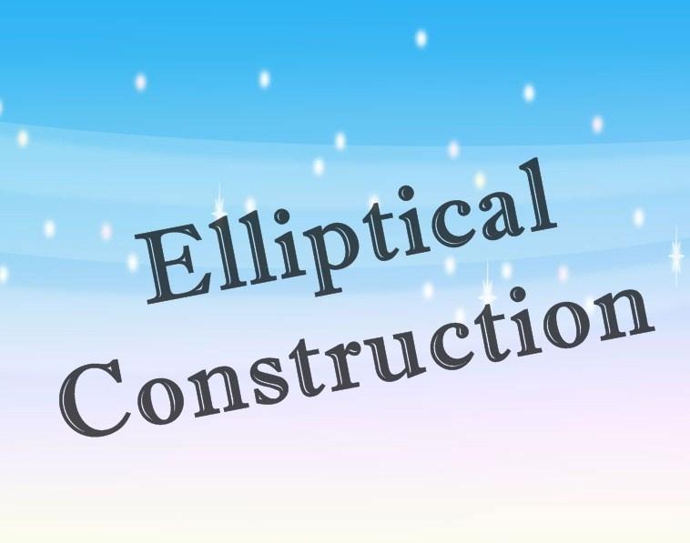 soal essay elliptical construction
