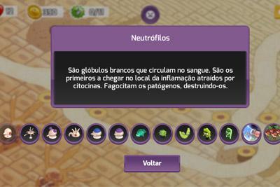 enciclopédia do jogo immuno rush