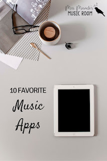 10 favorite music apps: Great apps for your music classroom, whether you have 1 iPad or 25!