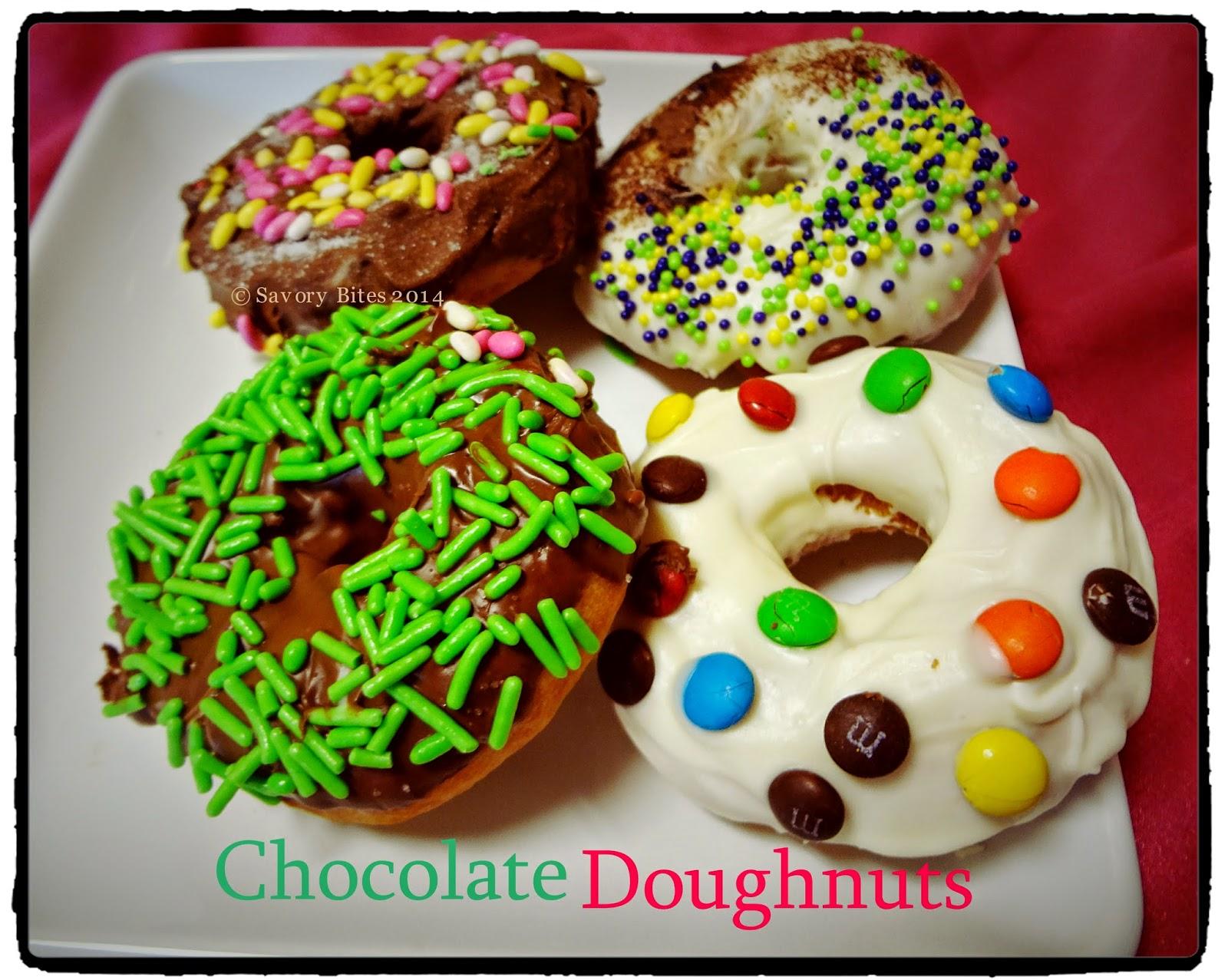 Chocolate Glazed Doughnuts