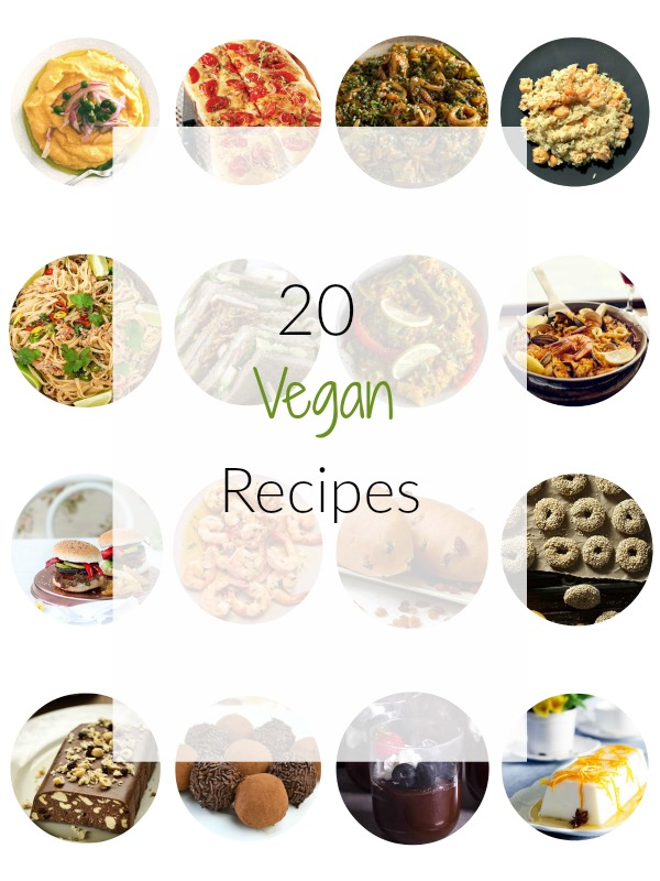 Vegan Recipes Roundup perfect for the fasting period - Ioanna's Notebook