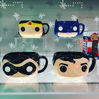 Toy Fair Tazas Dc comics