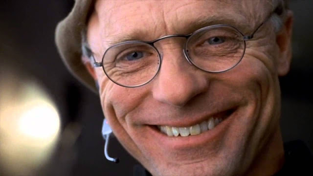 Ed Harris as The Truman Show creator Christof, Directed by Peter Weir