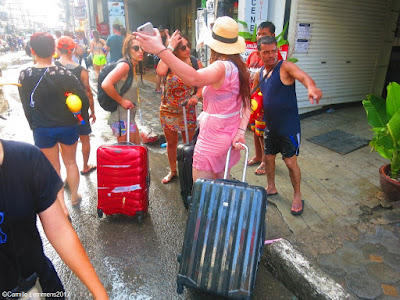 Songkran 2017 in Chaweng