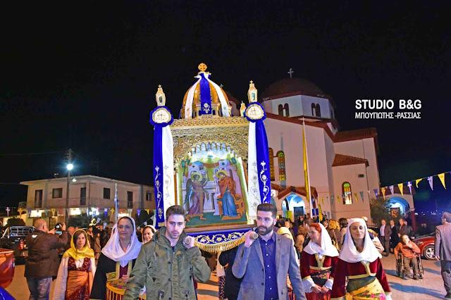 Η εορτή του Ευαγγελισμού της Θεοτόκου στα Φίχτια Αργολίδας (βίντεο)
