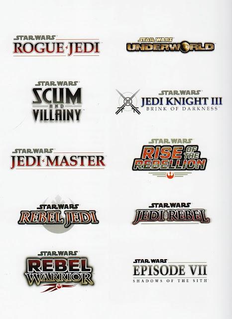 lucasarts unused logos
