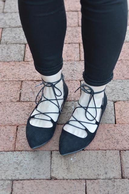 black-lace-up-flats