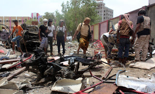 MIDDLE-EAST  Daesh-claimed bombing against Yemen army recruits kills 60