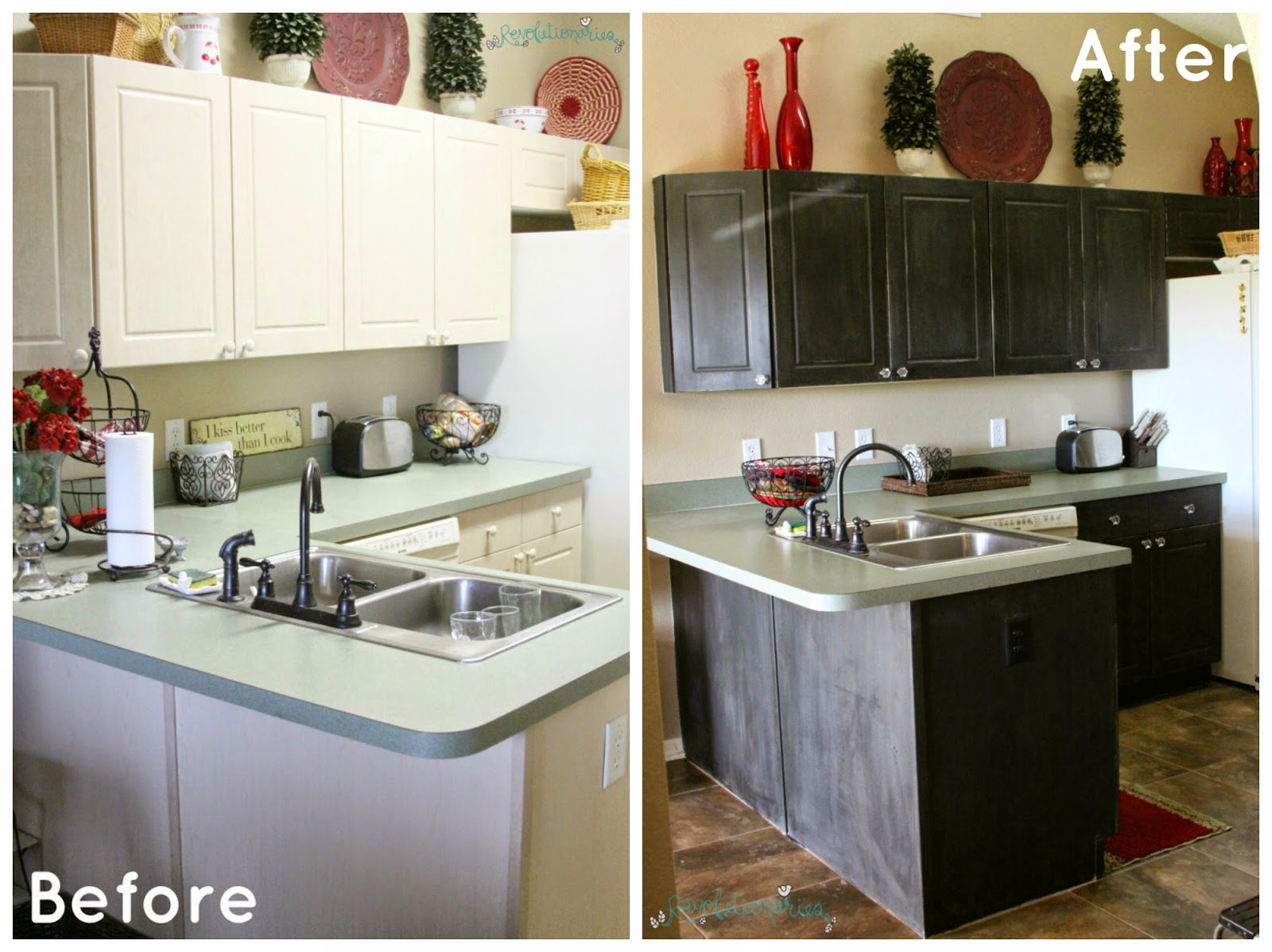 Milk Paint Vs Chalk Paint For Kitchen Cabinets