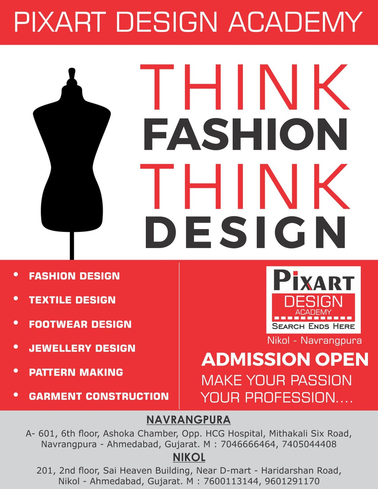 Diploma In Fashion Design Course In Ahmedabad