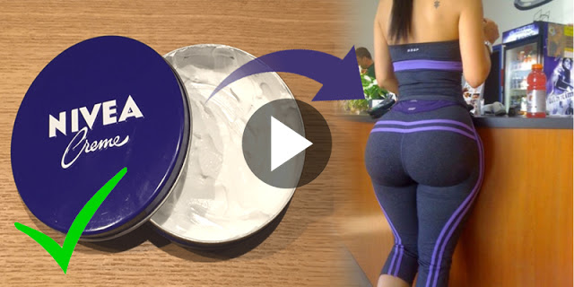 How To Increase Buttocks Size Very Fast With Nivea Cream, Without Surgery - Astonishing!