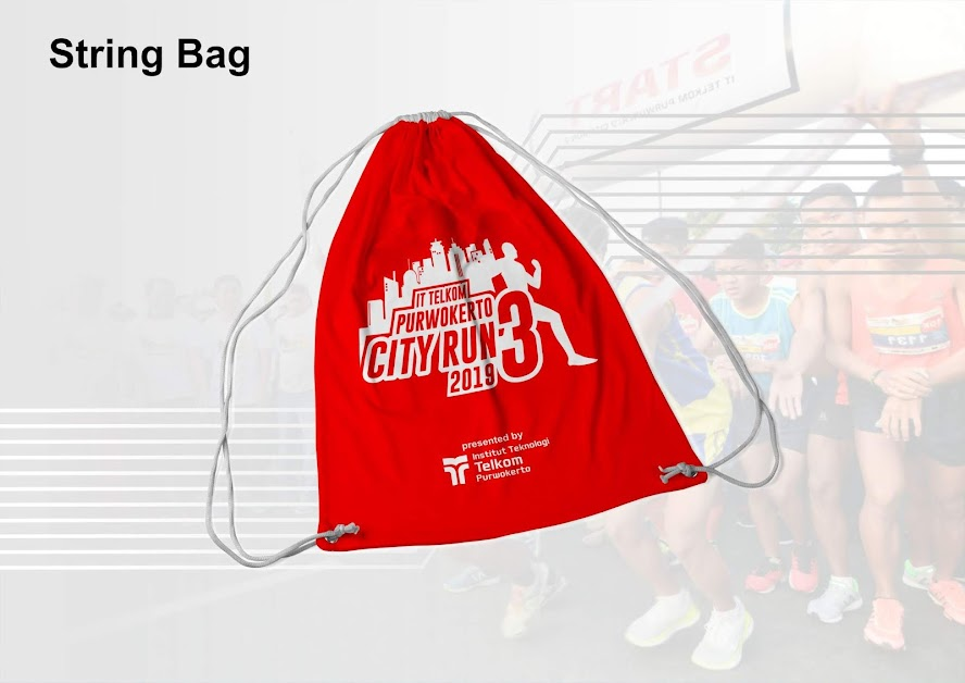 string-bag IT Telkom Purwokerto City Run 3 2019