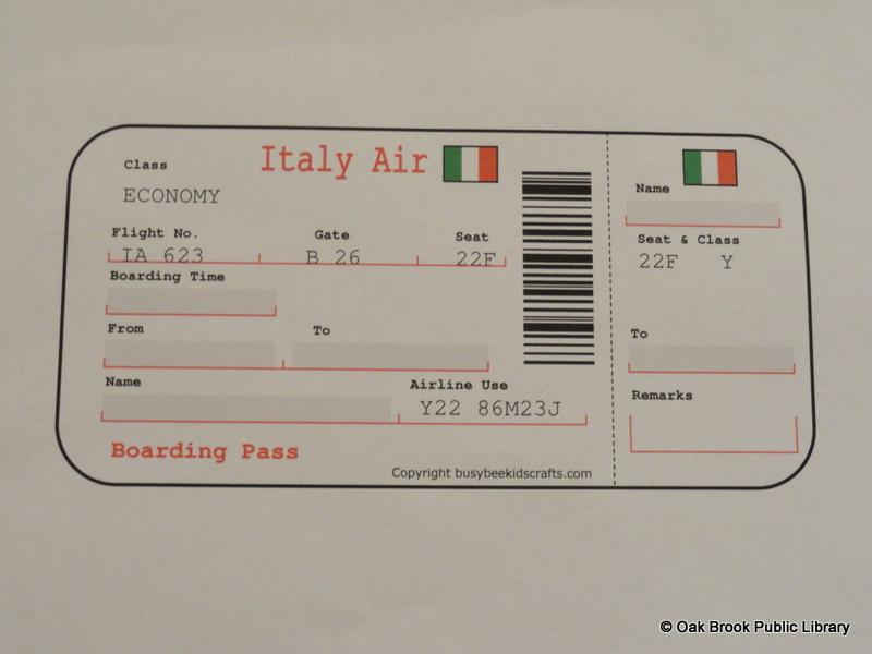 Italian Passport Template Gallery - template design free download - passport template