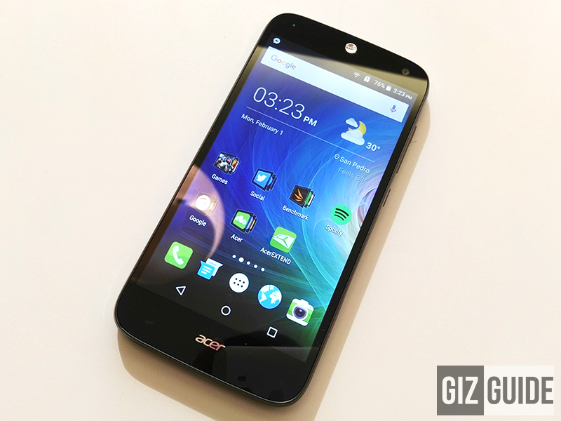 Quick Acer Liquid Z630 review