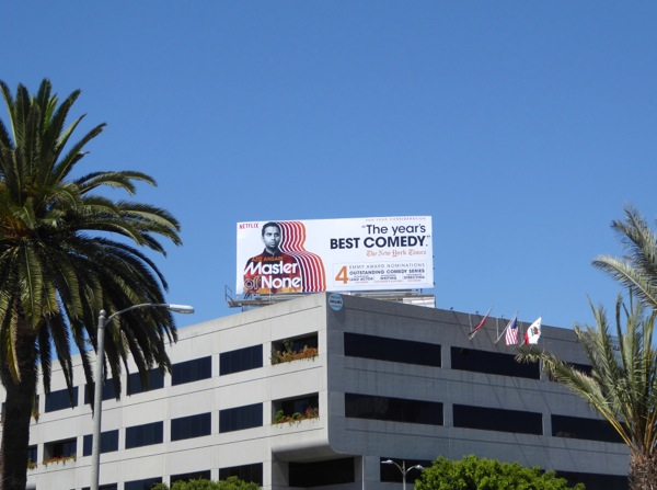 Master of None 2016 Emmy nomination billboard