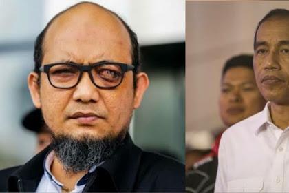 Dua Tahun Kasus Tak Terungkap, Novel: Saya Sedih Jika Ternyata Pak Jokowi Takut!