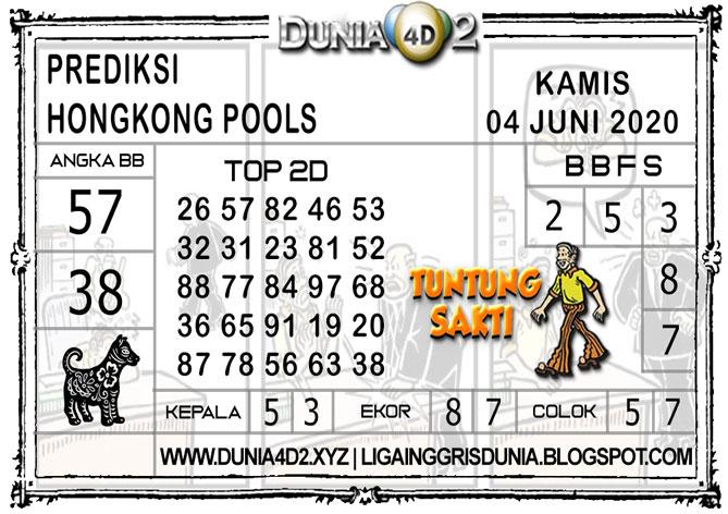 Prediksi Togel HONGKONG DUNIA4D2 04 JUNI 2020