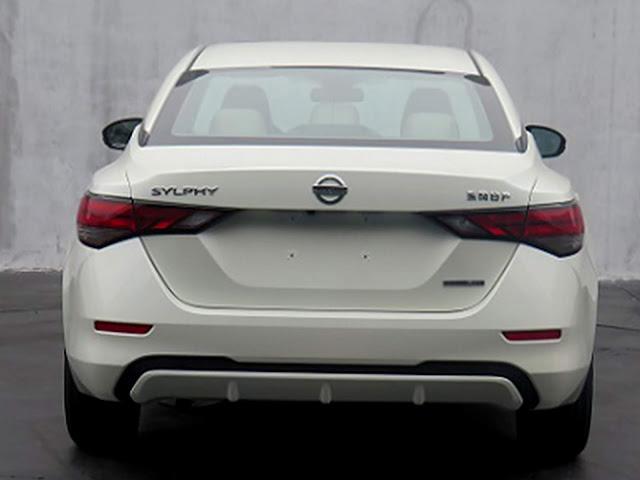 Novo Nissan Sentra 2020 - traseira