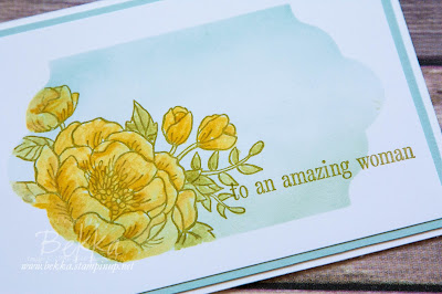 Happy Mother's Day Floral Card made using supplies from Stampin' Up! UK
