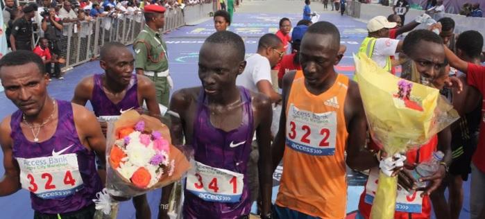 Kenyans, Ethiopians win Lagos Marathon
