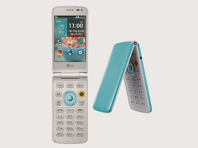LG Ice Cream Smart Flip Phone