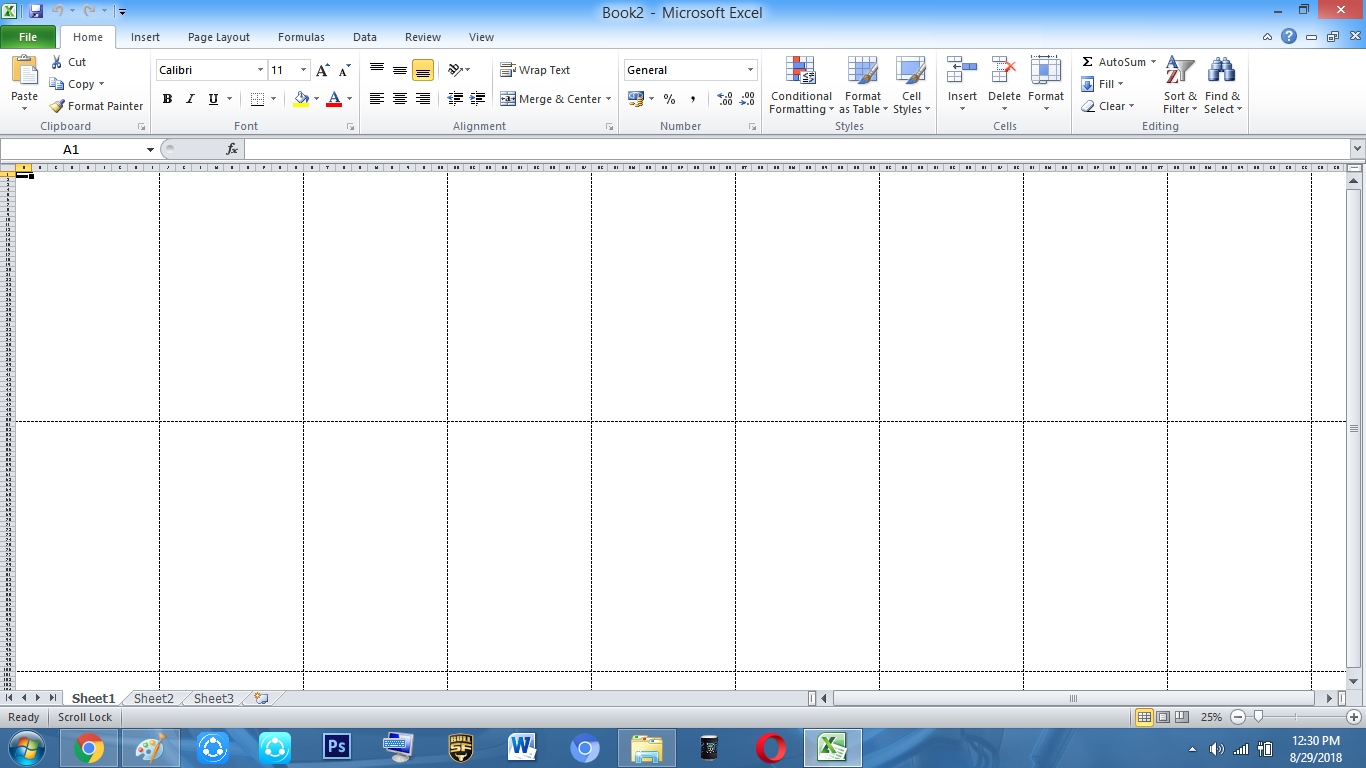 How To Make Tarpapel In Microsoft Excel