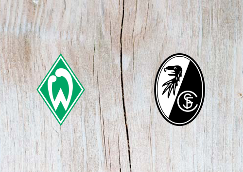 Werder Bremen vs Freiburg - Highlights 13 April 2019