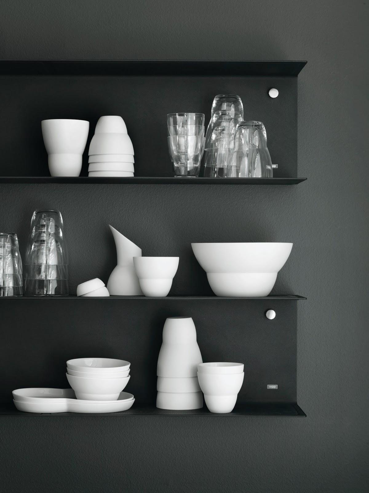 Białe naczynia kuchenne