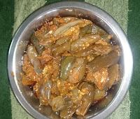brinjal fry