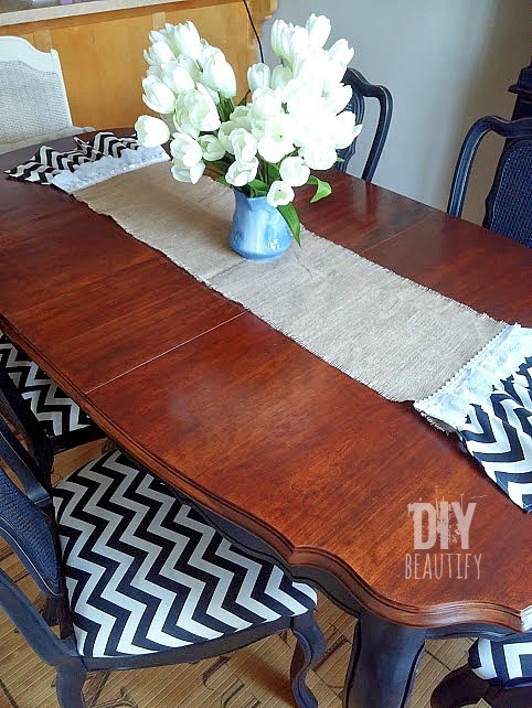 Refinishing A Table Refinished Top Dining