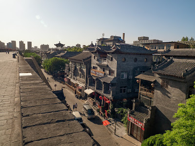 A Walk on the Xi'an City Wall - Part II