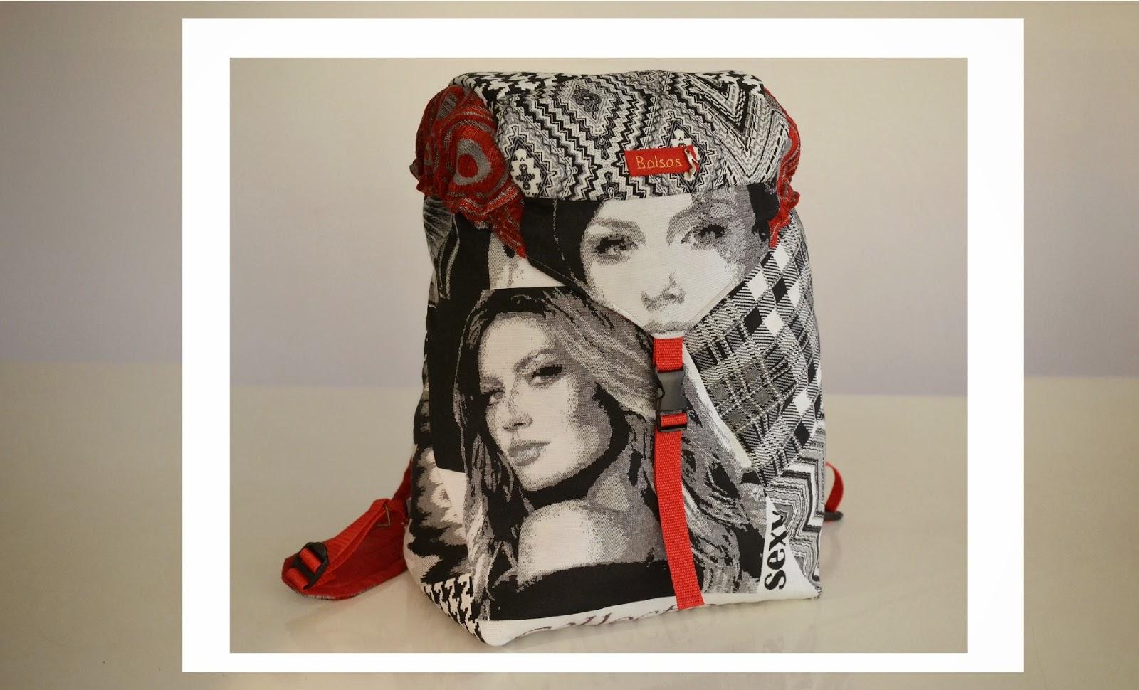 Bolsas-Tassen, unieke handgemaakte tassen, rugzak, Annet