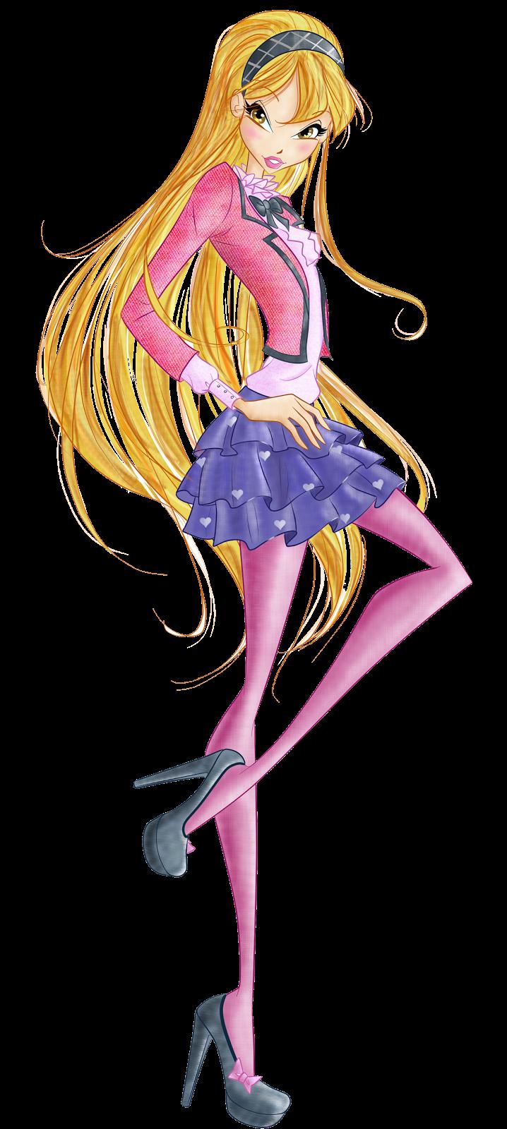 Winx Club Fairies: Stella School Look