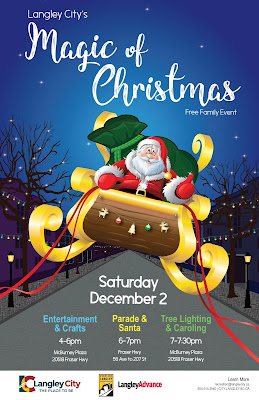 Langley City's Magic of Christmas - Free Family Event