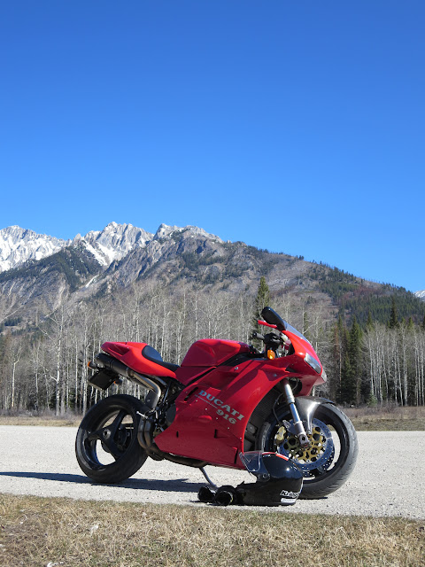 Ducati 916 Rocky Mountains