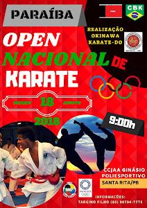 Paraíba Open de Karate