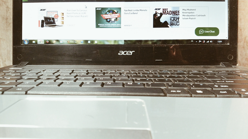 Acer Membantu Ifan Prasya Berkarya