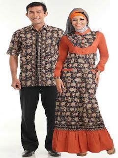 model baju batik u pesta