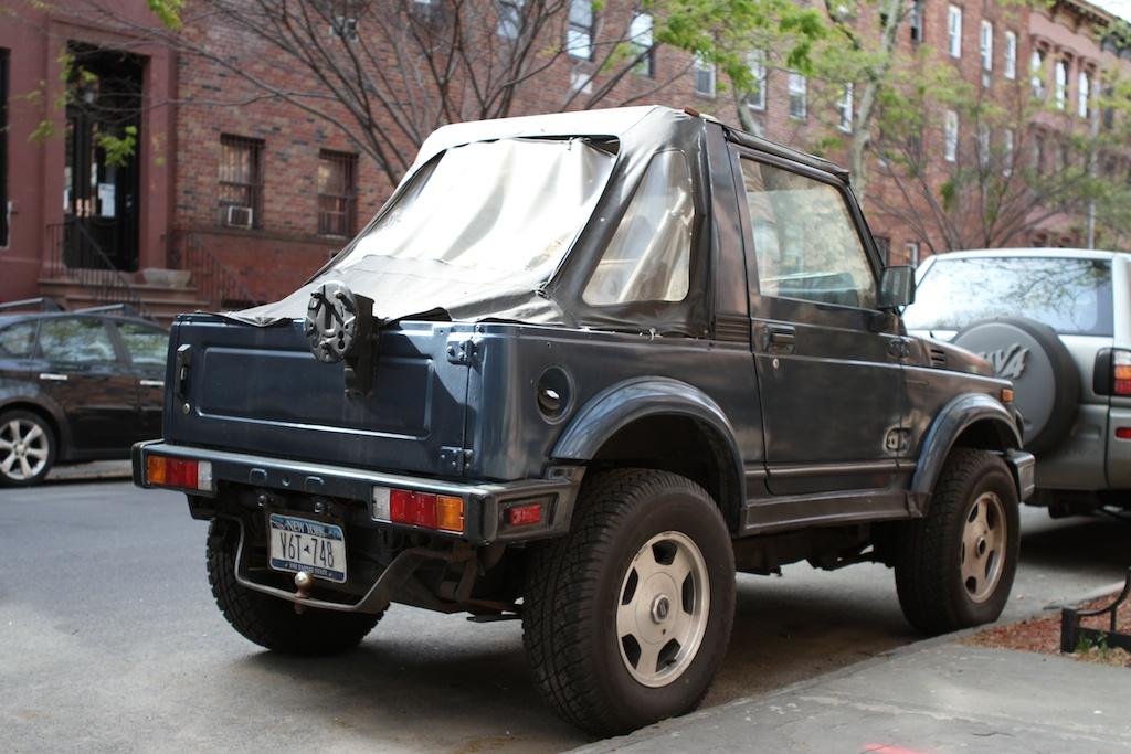 The Street Peep  1990 Suzuki Samurai Convertible