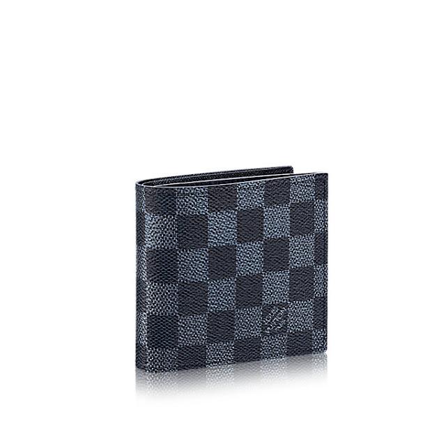 973cd399430 Louis Vuitton Brazza Wallet Damier Cobalt LV Cup | Authentic Louis ...