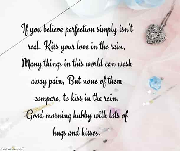 good morning kiss messages for husband