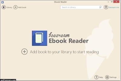 Icecream Ebook Reader