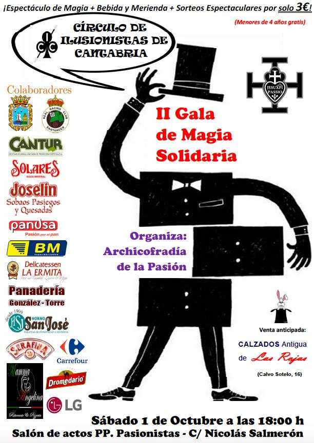 II GALA DE MAGIA SOLIDARIA en Santander